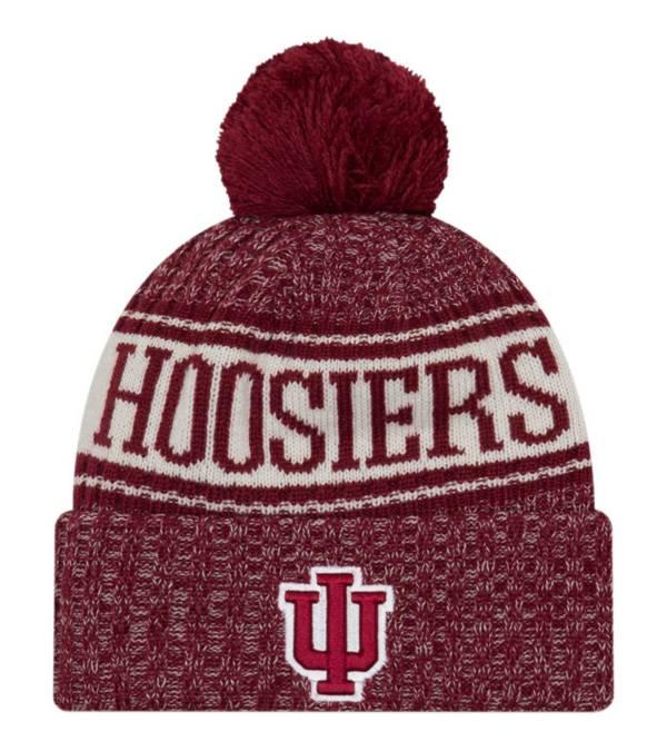 New Era Men's Indiana Hoosiers Crimson Sport Knit Beanie product image