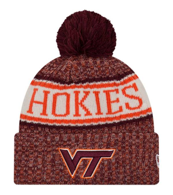 New Era Men's Virginia Tech Hokies Maroon Sport Knit Beanie product image
