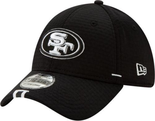 half off 9ef30 444a2 New Era Men s San Francisco 49ers Sideline Training Camp 39Thirty Stretch  Fit Black Hat. noImageFound. Previous. 1