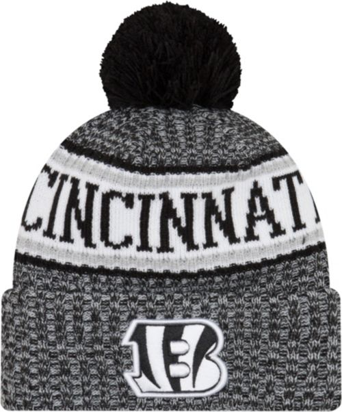 promo code a294b 7df11 New Era Men s Cincinnati Bengals Sideline Cold Weather Reverse Black Sport  Knit. noImageFound. Previous