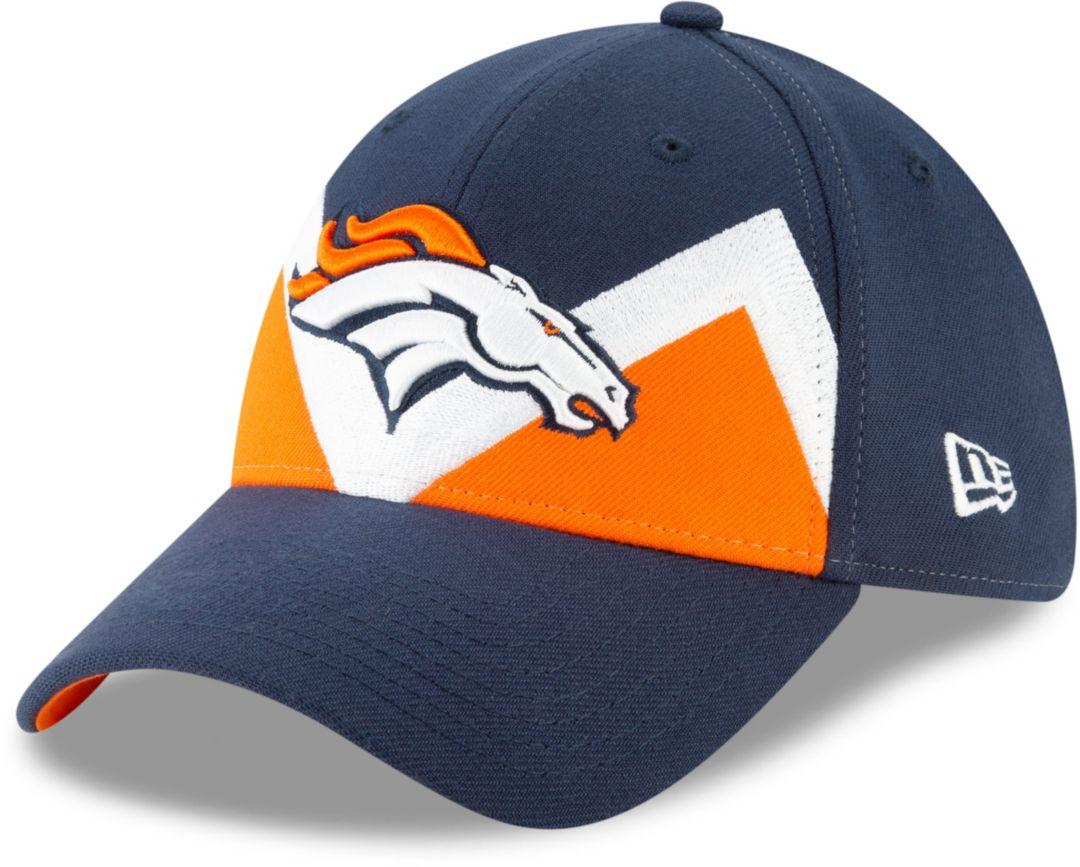 22f5b6ca477ca2 New Era Men's Denver Broncos 2019 NFL Draft 39Thirty Stretch Fit Navy Hat.  noImageFound. Previous