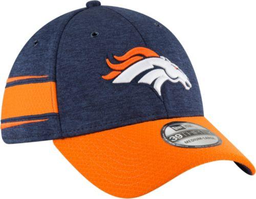 05c01d072df New Era Men s Denver Broncos Sideline Home 39Thirty Navy Stretch Fit Hat.  noImageFound. Previous