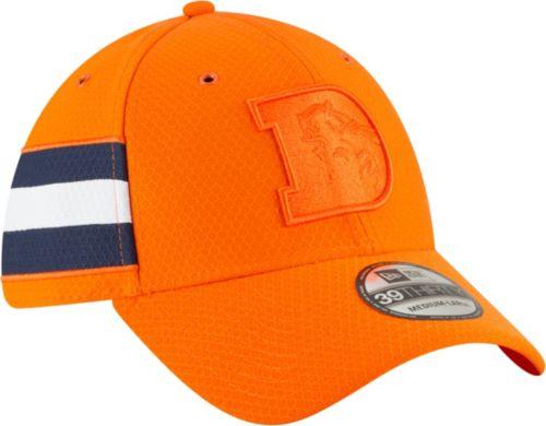 ab5a6ab35b6 New Era Men s Denver Broncos Sideline Color Rush 39Thirty Orange Stretch  Fit Hat. noImageFound. Previous