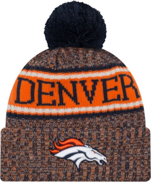 ca0a81c7d7797 New Era Men s Denver Broncos Sideline Cold Weather Reverse Navy ...