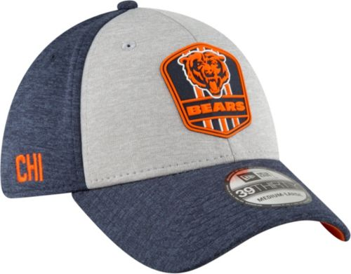 40bffb7e153 New Era Men s Chicago Bears Sideline Road 39Thirty Stretch Fit Hat.  noImageFound. Previous