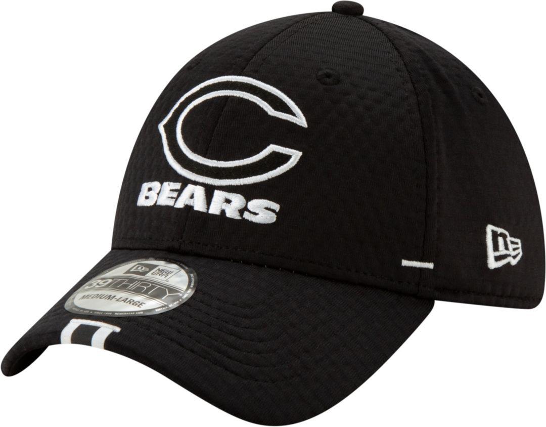 a1ca38c516f2b3 New Era Men's Chicago Bears Sideline Training Camp 39Thirty Stretch Fit  Black Hat. noImageFound. Previous