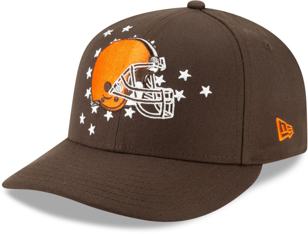 688d6933 New Era Men's Cleveland Browns 2019 NFL Draft 59Fifty Fitted Brown Hat