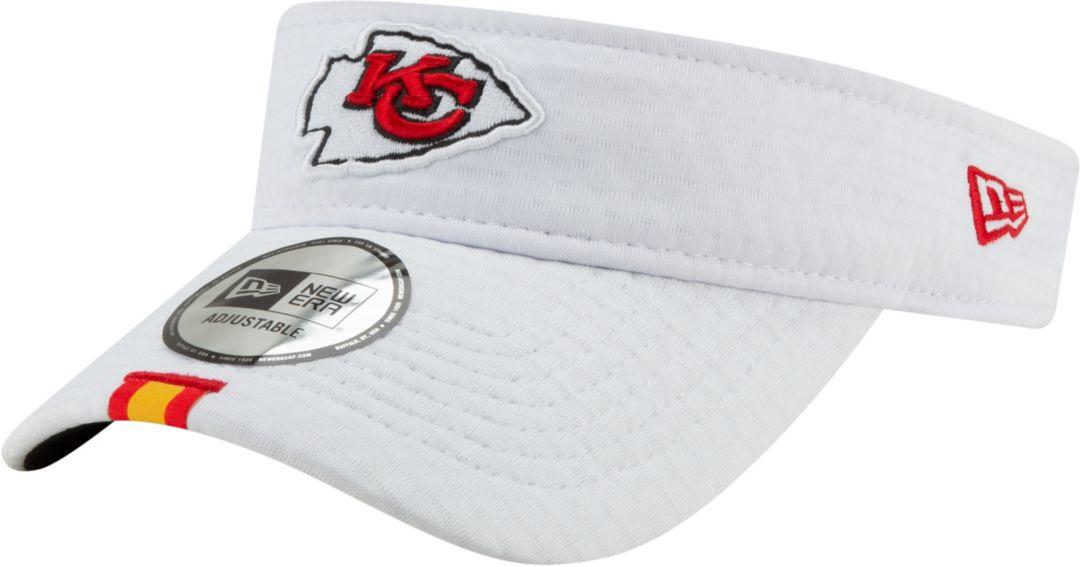 ea825a6c New Era Men's Kansas City Chiefs Sideline Training Camp Adjustable White  Visor