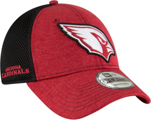the latest 1d965 ae844 ... usa new era mens arizona cardinals surge 9forty red adjustable hat  fc13c 557c0
