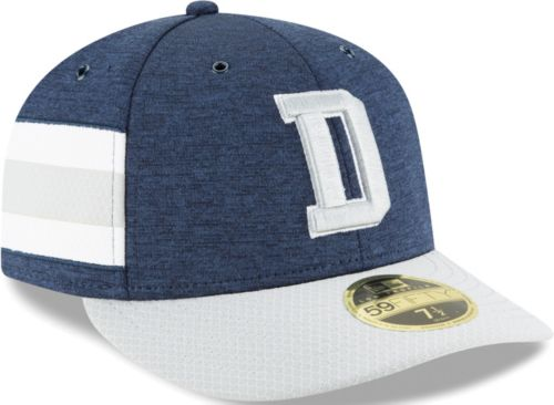 c32734076fc New Era Men s Dallas Cowboys Sideline Home 59Fifty Navy Fitted Hat.  noImageFound. Previous