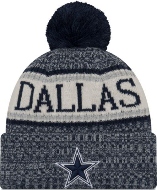 54135ff73 New Era Men's Dallas Cowboys Sideline Cold Weather Navy Sport Knit.  noImageFound. Previous. 1