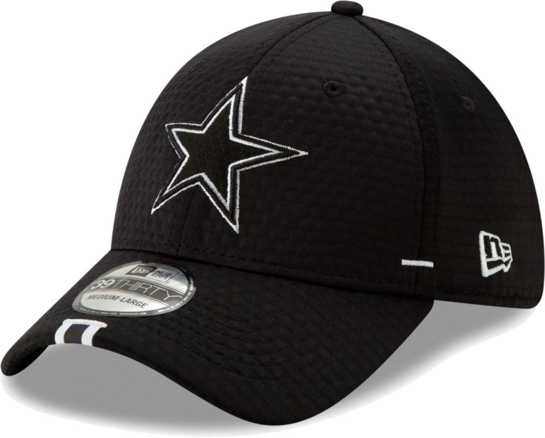 on sale 74259 8db08 New Era Men s Dallas Cowboys Sideline Training Camp 39Thirty Stretch Fit  Black Hat. noImageFound. Previous