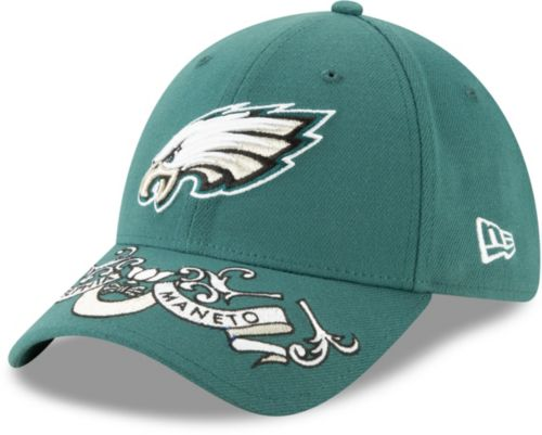 1faede9b86d15 New Era Men s Philadelphia Eagles 2019 NFL Draft 39Thirty Stretch Fit Green  Hat. noImageFound. Previous