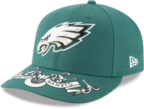 2acee5370 New Era Men's Philadelphia Eagles 2019 NFL Draft 59Fifty Fitted Green Hat.  noImageFound. Previous