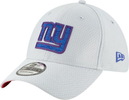 New Era Men s New York Giants Sideline Training Camp 39Thirty Grey ... 8faba7339e6