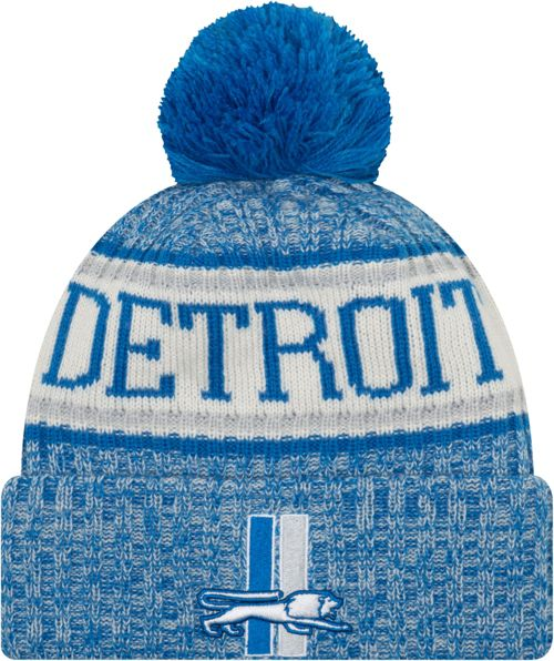 promo code bb2c8 af5a3 ... hats pittsburgh steelers  new era mens detroit lions sideline cold  weather blue sport knit. noimagefound. previous