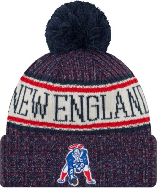 fe196735b375f New Era Men s New England Patriots Sideline Cold Weather Navy Sport Knit.  noImageFound. Previous