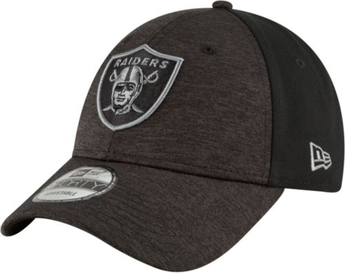 f07085c0495 New Era Men s Oakland Raiders Shaded Front 9Forty Black Adjustable Hat.  noImageFound. Previous
