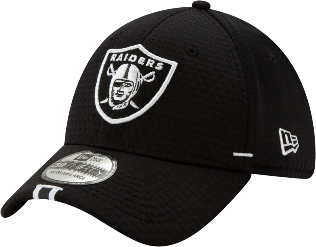 aa95987453712a New Era Men's Oakland Raiders Sideline Training Camp 39Thirty Stretch Fit  Black Hat. noImageFound. Previous