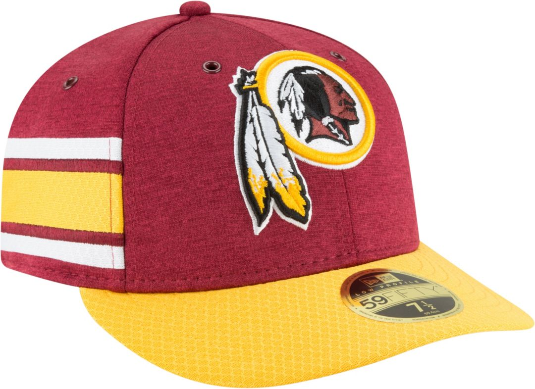 new photos famous brand online for sale Hats Sideline Home Washington Redskins New Era 59Fifty Cap Men's ...
