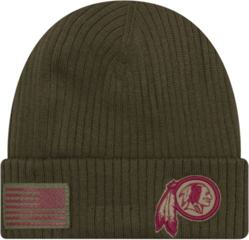low cost 8620f 9031f New Era Men s Salute to Service Washington Redskins Olive Cuffed Knit.  noImageFound. Previous