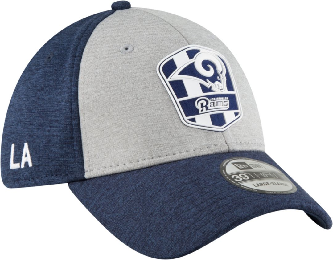 e9e30dbe New Era Men's Los Angeles Rams Sideline Road 39Thirty Stretch Fit Hat.  noImageFound. Previous