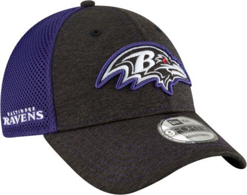 new zealand new era mens baltimore ravens surge 9forty black adjustable hat  2012e 02c7e cd5d7e07f