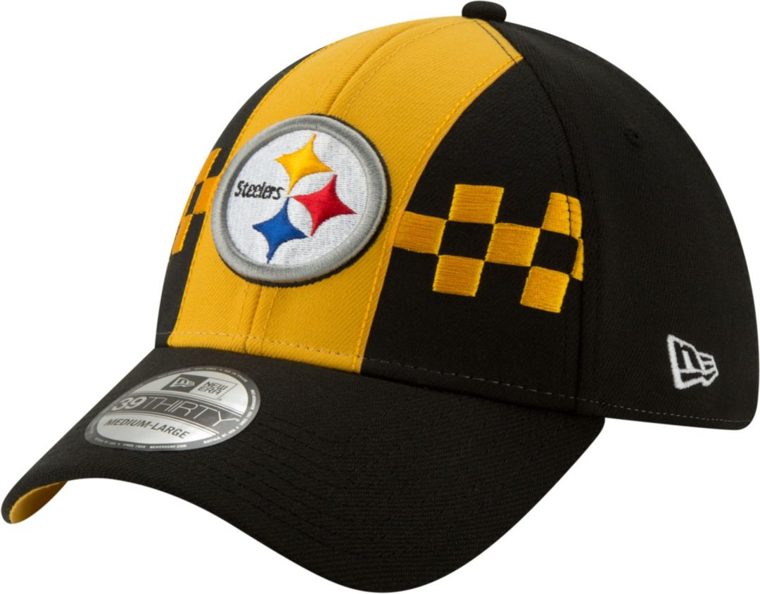 44c80a6f New Era Men's Pittsburgh Steelers 2019 NFL Draft 39Thirty Stretch Fit Black  Hat. noImageFound. Previous
