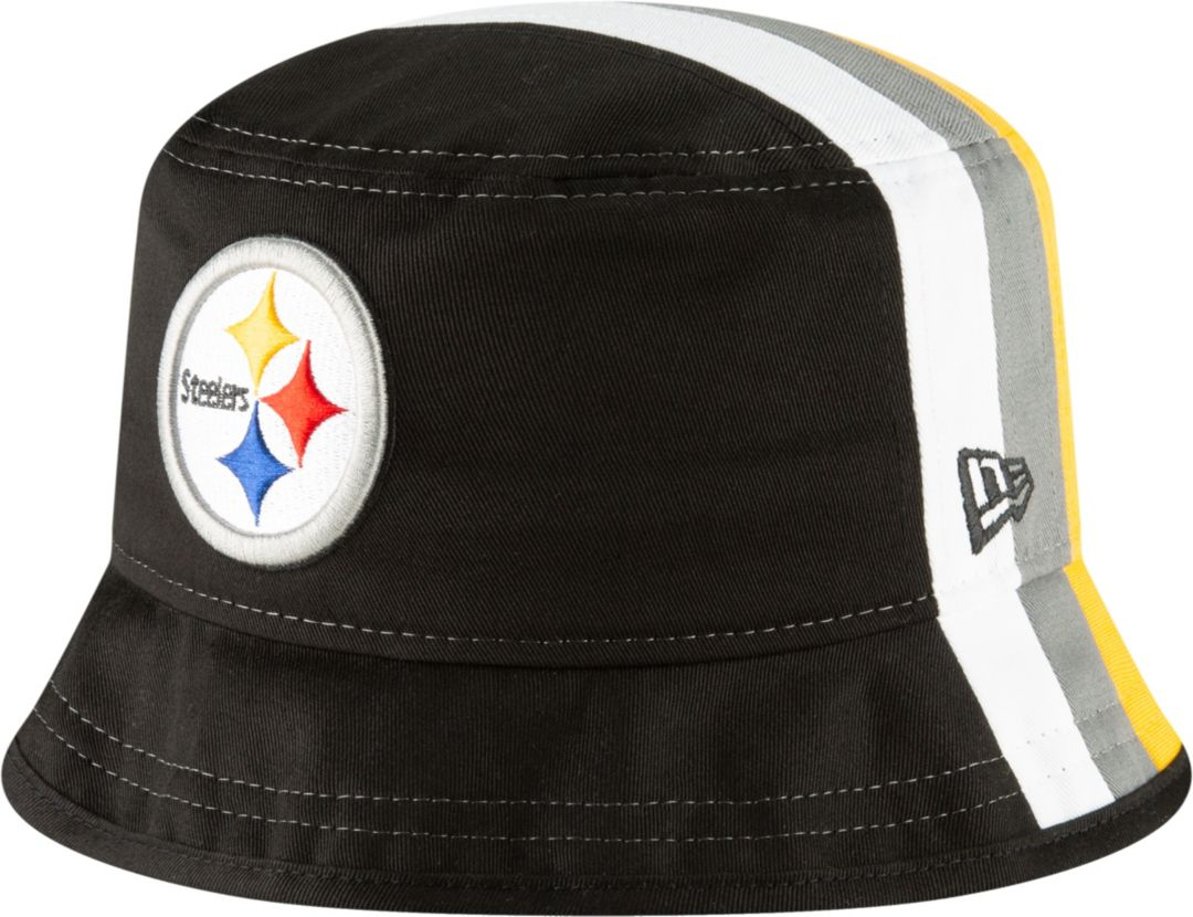 quality design 8a293 2450e New Era Men s Pittsburgh Steelers  Designed by JuJu  Bucket Hat ...
