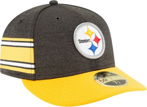 ad70851fc922e2 ... sweden new era mens pittsburgh steelers sideline home 59fifty black  fitted hat 88397 f70bd
