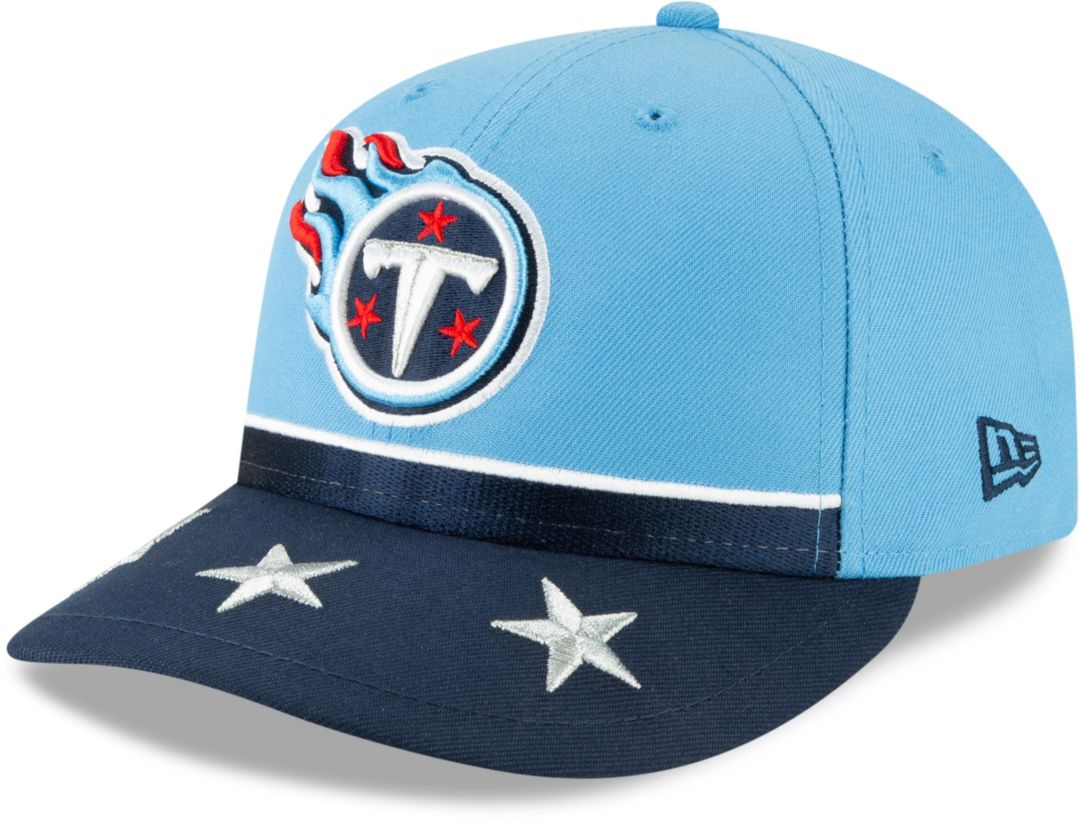 wholesale dealer 7aabc 61fba New Era Men s Tennessee Titans 2019 NFL Draft 59Fifty Fitted Blue Hat.  noImageFound. Previous. 1