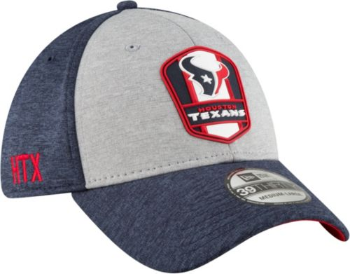 new arrival 03ad2 0aa57 New Era Men s Houston Texans Sideline Road 39Thirty Stretch Fit Hat.  noImageFound. Previous