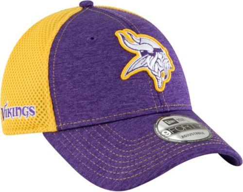 New Era Men s Minnesota Vikings Surge 9Forty Purple Adjustable Hat ... 0c7bc2005c6a
