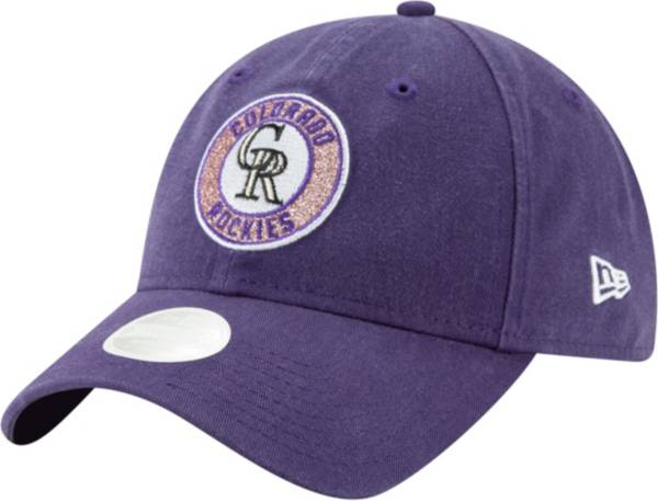 New Era Women's Colorado Rockies 9Twenty Patched Sparkle Adjustable Hat product image