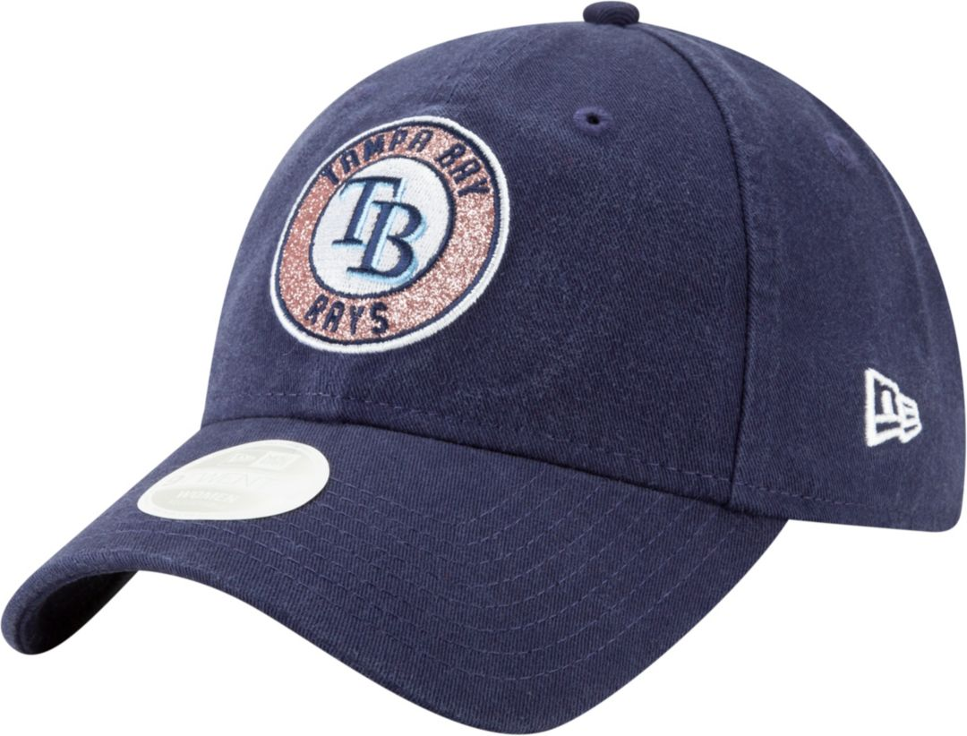 5c5c516b New Era Women's Tampa Bay Rays 9Twenty Patched Sparkle Adjustable Hat