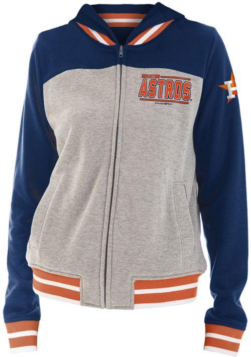742ec2ddc45dc New Era Women s Houston Astros Full-Zip Hoodie