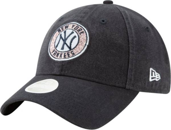 New Era Women's New York Yankees 9Twenty Patched Sparkle Adjustable Hat product image