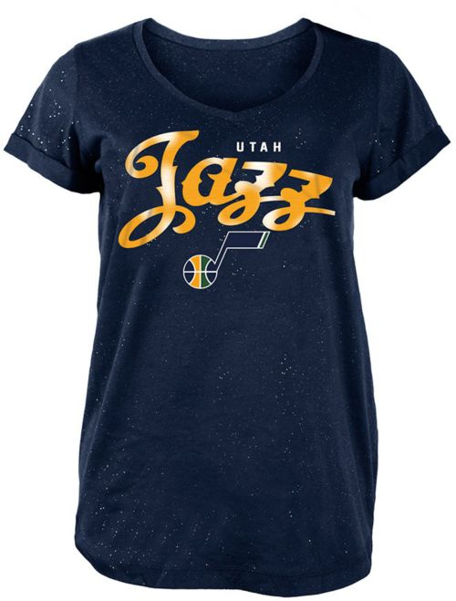 New Era Women s Utah Jazz Scoop Neck T-Shirt  8c1ce4482f1