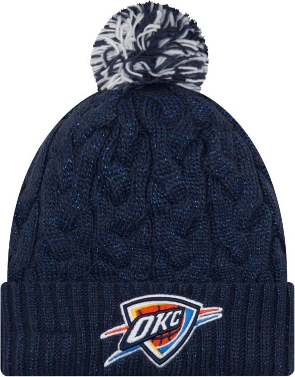 New Era Women's Oklahoma City Thunder Cozy Knit Hat product image