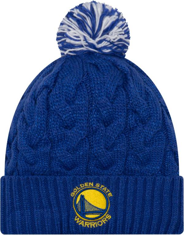 New Era Women's Golden State Warriors Cozy Knit Hat product image