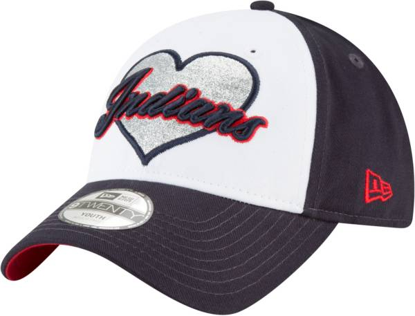 New Era Youth Cleveland Indians 9Twenty Sparkly Fan Adjustable Hat product image