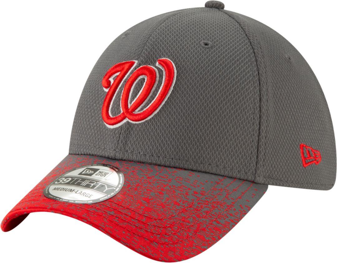 info for 3b57e 0aec1 New Era Youth Washington Nationals 39Thirty Blur Visor Stretch Fit Hat.  noImageFound. Previous