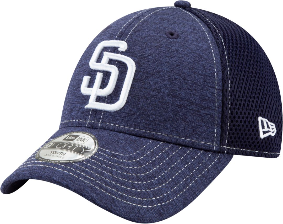 new arrival 1e8a7 3d306 New Era Youth San Diego Padres 9Forty Team Tread Adjustable Hat.  noImageFound. Previous