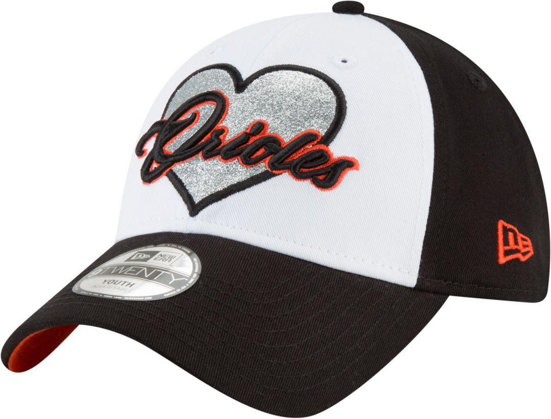 reputable site 55aa6 aa1e7 New Era Youth Baltimore Orioles 9Twenty Sparkly Fan Adjustable Hat.  noImageFound. Previous. 1. 2. 3