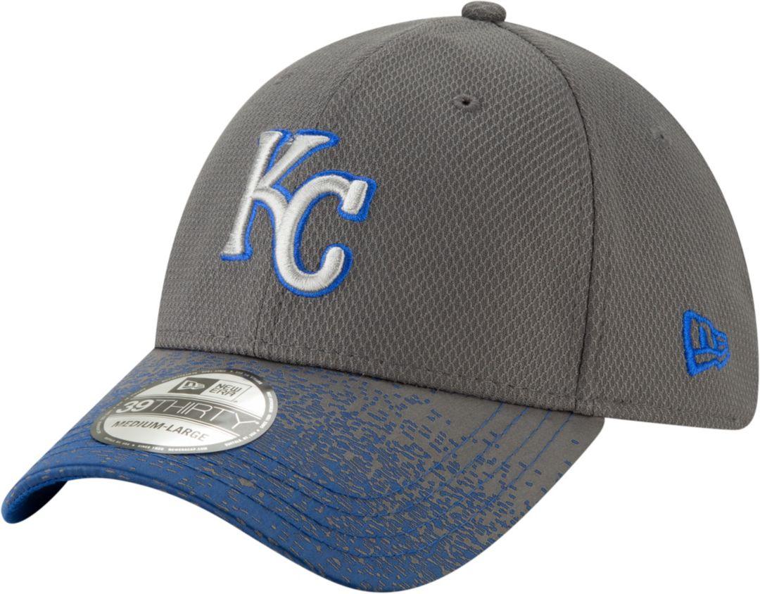 buy popular 7337b 33def New Era Youth Kansas City Royals 39Thirty Blur Visor Stretch Fit Hat.  noImageFound. Previous