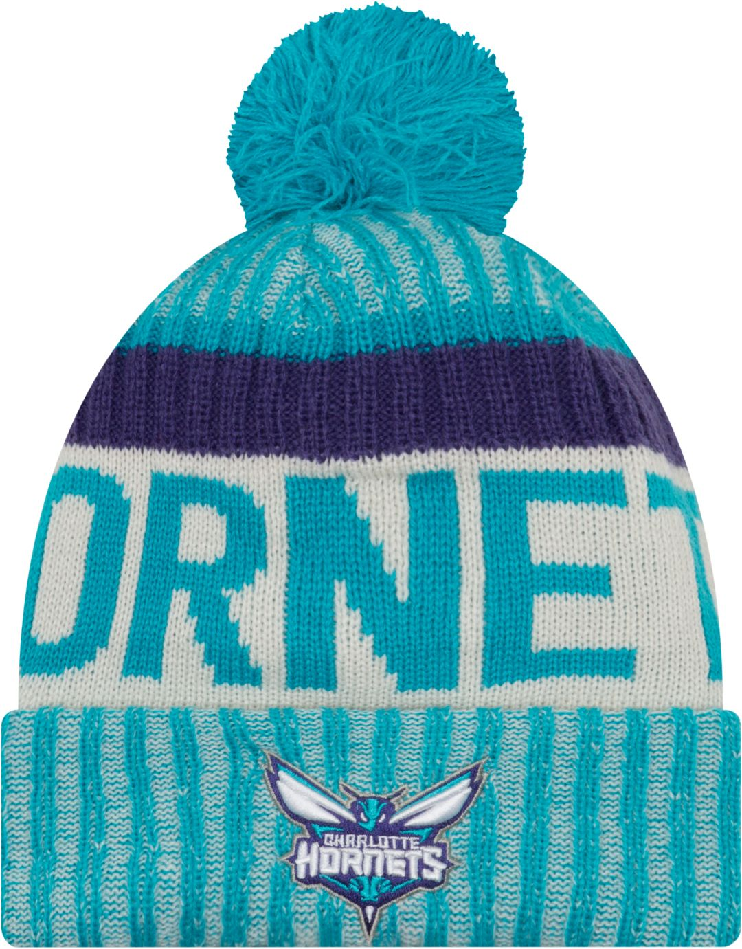 innovative design 20612 5c02e New Era Youth Charlotte Hornets Knit Hat. noImageFound. Previous