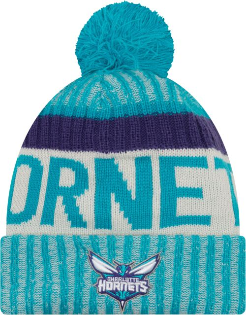 21456eaf82f New Era Youth Charlotte Hornets Knit Hat. noImageFound. Previous