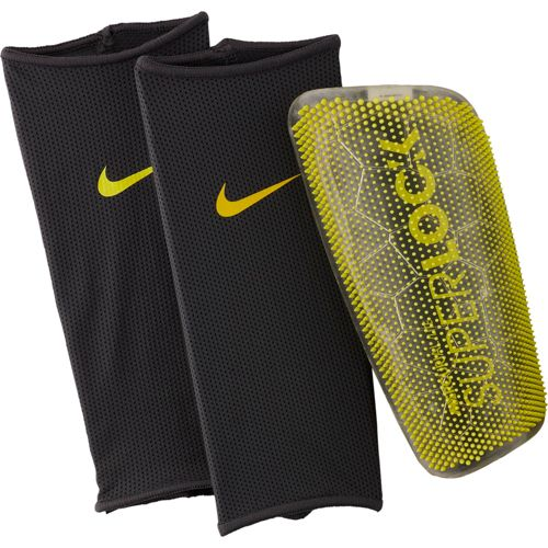 best service 4be7f f2f7e Nike Adult Mercurial Lite SuperLock Soccer Shin Guards