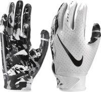Nike Vapor Jet 5.0 Football Gloves Black//Volt Youth Size Large
