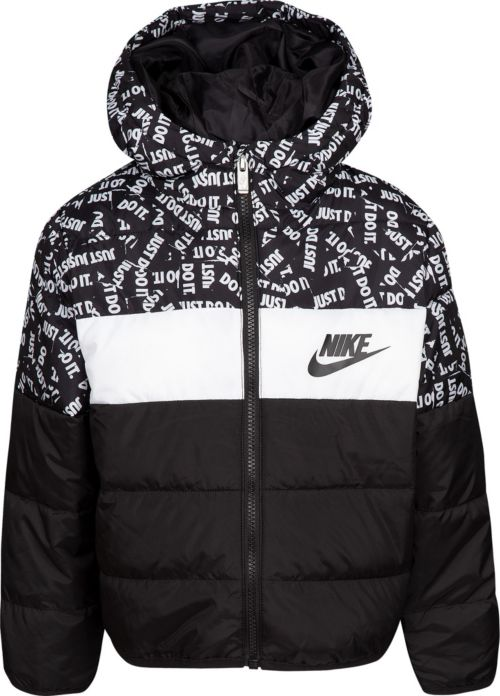 eed3f83ee548 Nike Little Boys  Polyfill Blocked Insulated Puffer Jacket